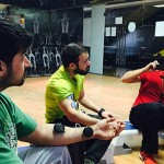 Compex product training at GoldsGym
