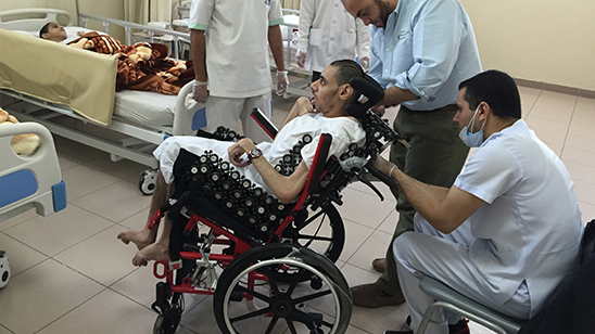 Evaluation some mobility disability difficult cases in Male Rehab center in Dammam